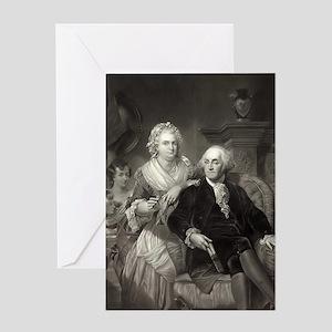 Valentine's Card - George & Martha