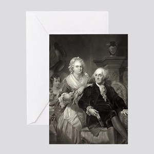Valentine's Card - George & Martha