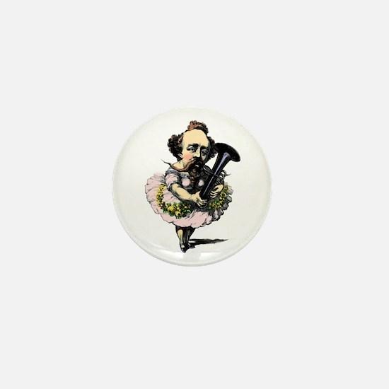 BandNerd.com: Baritone Fairy Mini Button