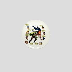 $2.49 Green Hornet Icon Mini Button