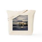 Winter Sunset 0005 Tote Bag