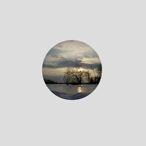 Winter Sunset 0005 Mini Button