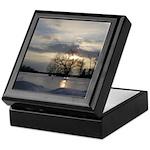 Winter Sunset 0005 Keepsake Box
