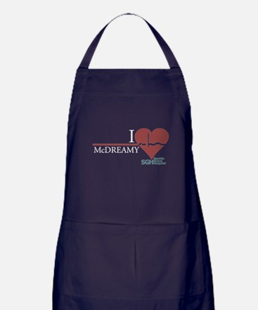 I Heart McDREAMY - Grey's Anatomy Apron (dark)