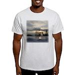 Winter Sunset 0005 Ash Grey T-Shirt