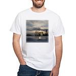 Winter Sunset 0005 White T-Shirt