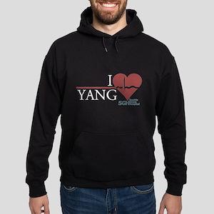 I Heart Yang - Grey's Anatomy Hoodie (dark)