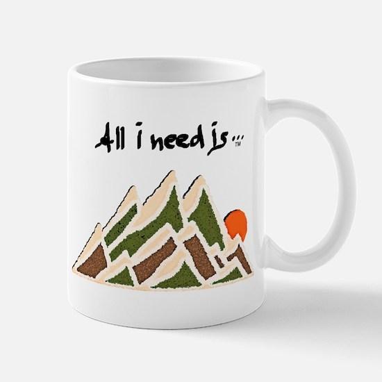 Need Mountains Mug