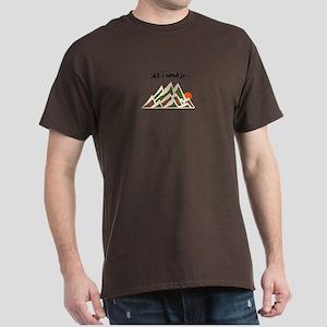 Need Mountains Dark T-Shirt