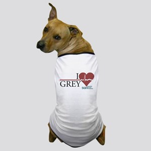 I Heart Grey - Grey's Anatomy Dog T-Shirt
