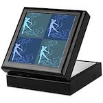 Dance Scrolls Keepsake Box