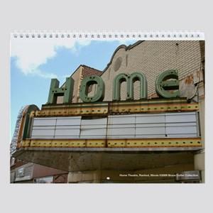 Theaters of Central Illinois Wall Calendar