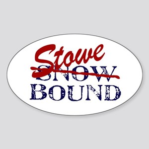 Stowe Bound Oval Sticker