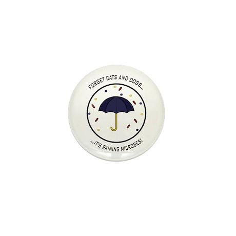 Raining Microbes Mini Button (10 pack)