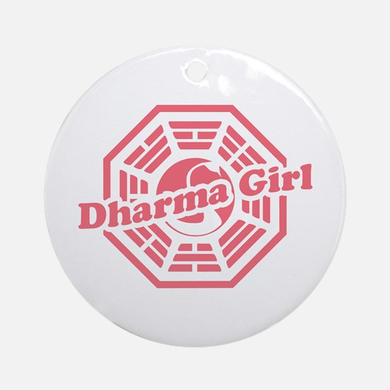 LOST Dharma Girl Ornament (Round)