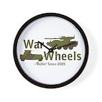 WarWheels.Net Wall Clock