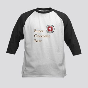 SCB Super Chocolate Bear Kids Baseball Jersey