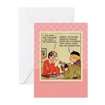 Boo Hoo BRIDE Greeting Cards (Pk of 10)