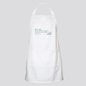 We're Adults - Grey's Anatomy Quote Apron