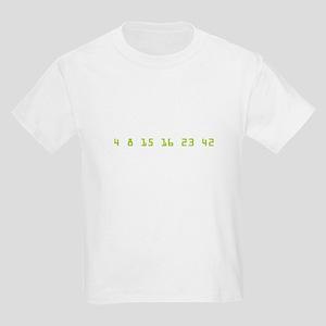 Every 108 Minutes Kids Light T-Shirt