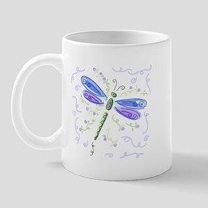 Blue Dragonfly Mug