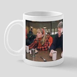 Bill & Hillary Clinton Coffee Mug