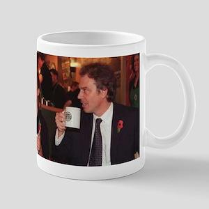 Gordon Brown & Tony Blair coffee mug