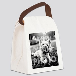 Add Your Photo Tote Bag Canvas Lunch Bag