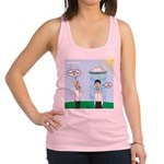 Weird Weather Racerback Tank Top