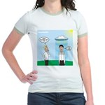 Weird Weather Jr. Ringer T-Shirt