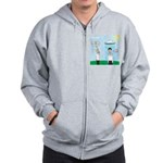 Weird Weather Zip Hoodie