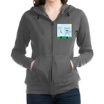 Weird Weather Women's Zip Hoodie