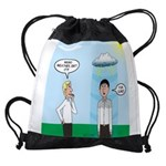 Weird Weather Drawstring Bag
