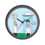 Weird Weather Wall Clock