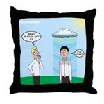 Weird Weather Throw Pillow
