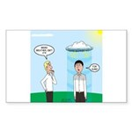 Weird Weather Sticker (Rectangle 50 pk)