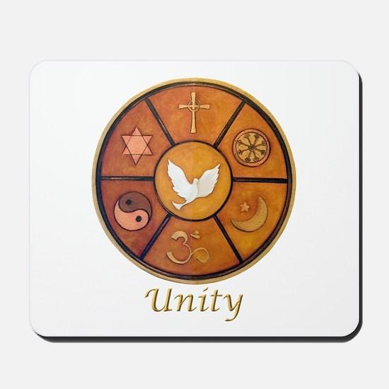 "Interfaith ""Unity"" - Mousepad"