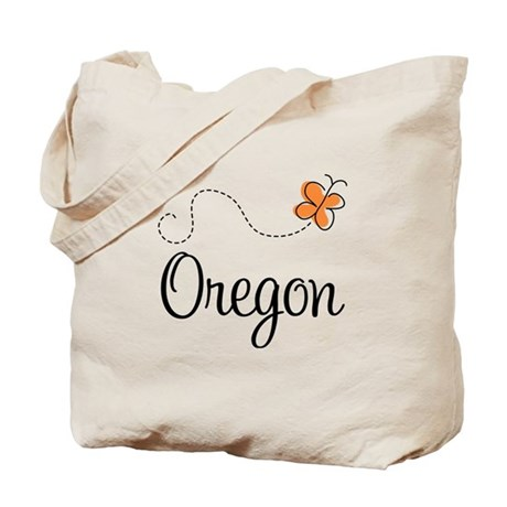 Pretty Oregon Tote Bag