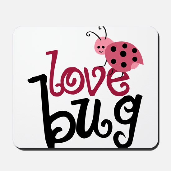 Love Bug Mousepad