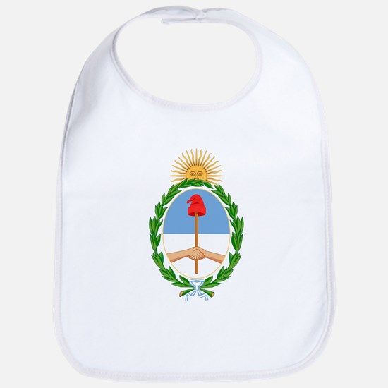 Argentina Coat of Arms Bib