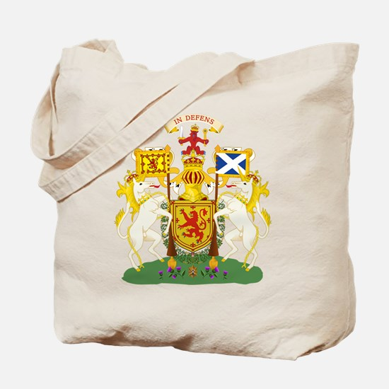 Scotland Coat of Arms Tote Bag