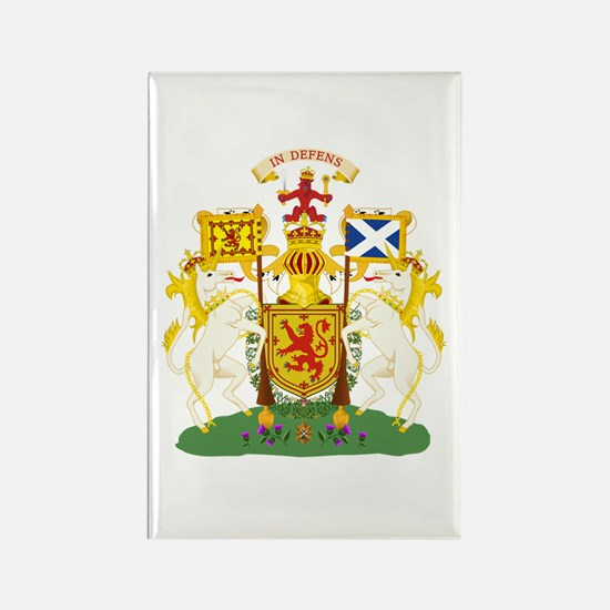 Scotland Coat of Arms Rectangle Magnet