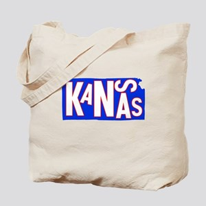 Kansas Football Basketball Tote Bag