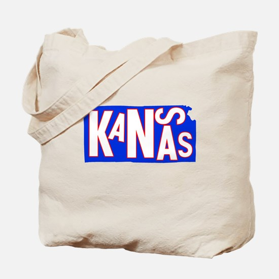 Kansas Football Basketball Tote Bag