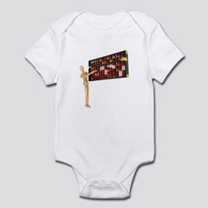 Counting up Numbers Infant Bodysuit