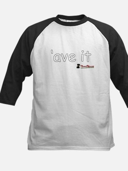 'Ave It! Kids Baseball Jersey