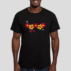 Life's A Garden Men's Fitted T-Shirt (dark)