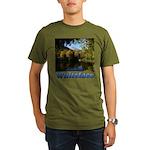 Whiteface pond Organic Men's T-Shirt (dark)