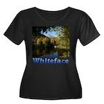 Whiteface pond Women's Plus Size Scoop Neck Dark T