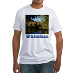 Whiteface pond Fitted T-Shirt